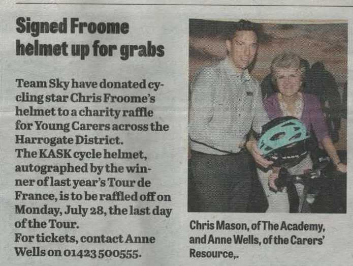 froome helmet Advertiser July 17 2014
