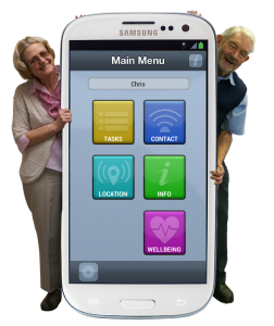 App4Care can help carers care from a distance - while keeping them in contact with their loved one