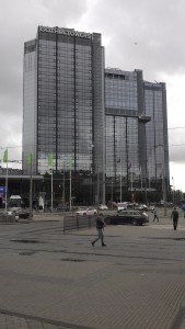 Gothia Towers - the location of the conference in Gothenburg, Sweden