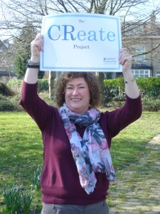 CReate service manager Candy Squire-Watt celebrates the project's three years' success