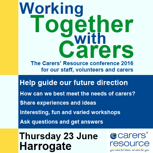 Working Together with Carers conference