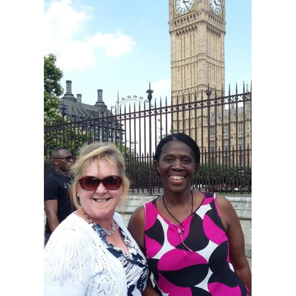 Carers Lynn and Marlene our ambassadors at the House of Lords
