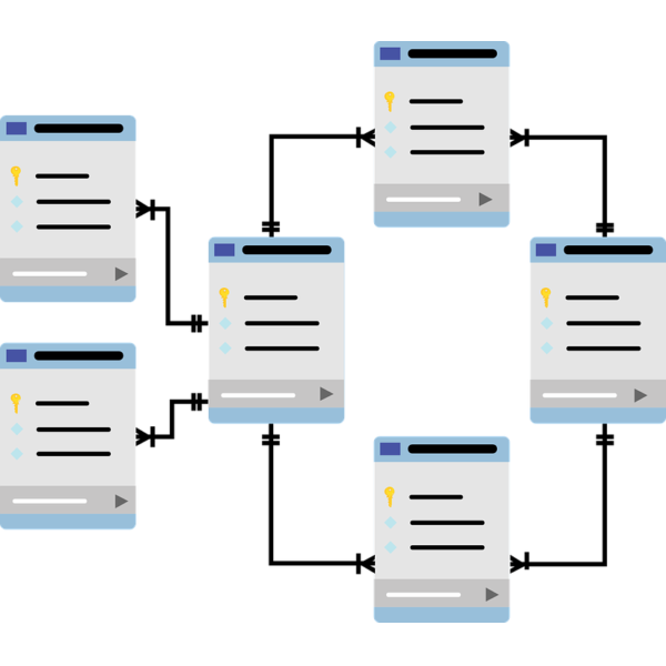 Database schema diagram
